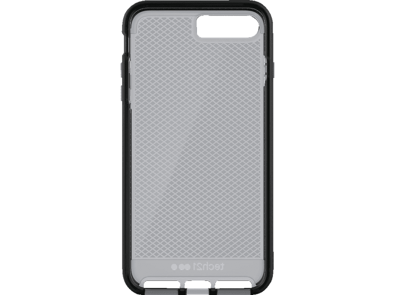 TECH21 T21-5347 Backcover Apple iPhone 7 Plus Thermoplastisches Polyurethan Schwarz
