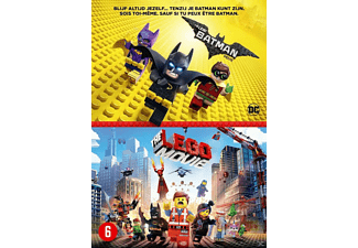 Lego Batman Movie + Lego Movie DVD