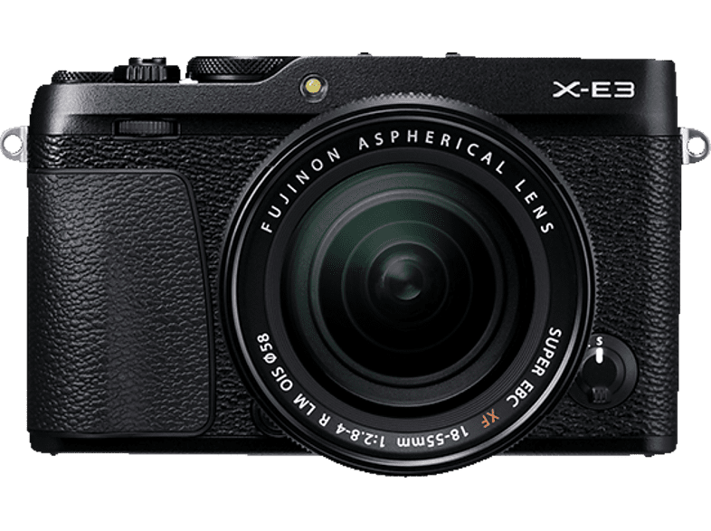 X-E3 Systemkamera 24.3 Megapixel mit Objektiv 18- 55 mm f/2.8, 7.6 cm Display Touchscreen, WLAN