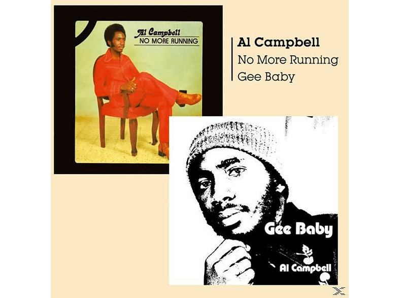 Al Campbell - Gee Baby/No More Running [CD]