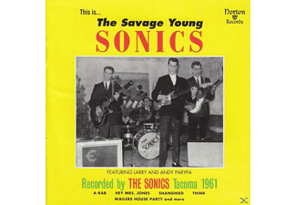 VARIOUS - The Savage Young Sonics - (Vinyl)