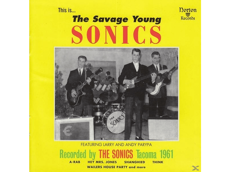VARIOUS - The Savage Young Sonics [Vinyl]