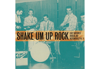 VARIOUS - Shake Um Up Rock - (CD)