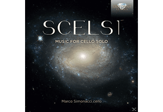 Marco Simonacci - Complete Music For Cello Solo - (CD)