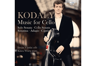 Klara Würtz, Istvan Vardal - Music For Cello - (CD)