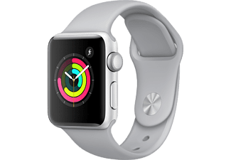 APPLE Watch Series 3 42mm Silver με γκρι sport band