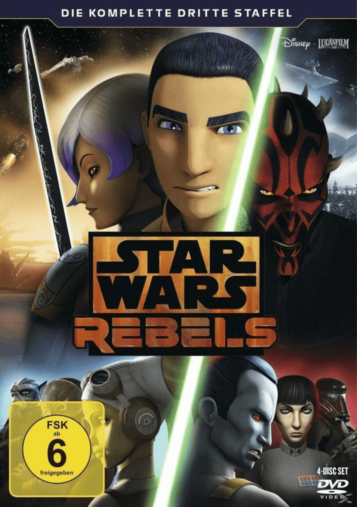 STAR WARS REBELS: Staffel 3 - (DVD)