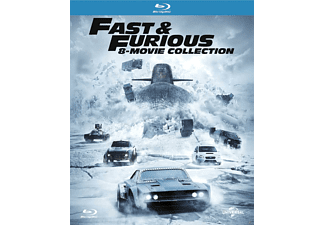 Fast & Furious: 8-Movie Collection Blu-ray