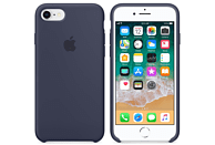 APPLE Silikon Case Backcover Apple iPhone 7, iPhone 8 Silikon Mitternachtsblau
