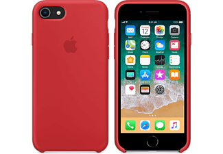 APPLE Silikonskal till iPhone 8 - (PRODUCT)RED