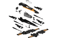 REVELL Build & Play Poe's Boosted X-Wing Fighter Bausatz, Mehrfarbig