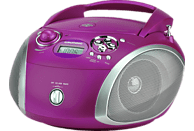 GRUNDIG GRB 2000 USB CD Radio (Purple/Silber)