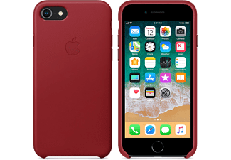 APPLE Läderskal till iPhone 7/8 – (PRODUCT)RED