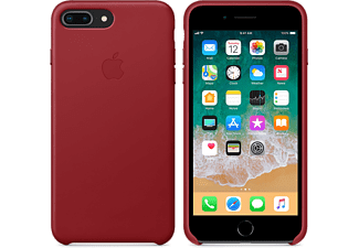 APPLE Läderskal till iPhone 8 Plus – (PRODUCT)RED