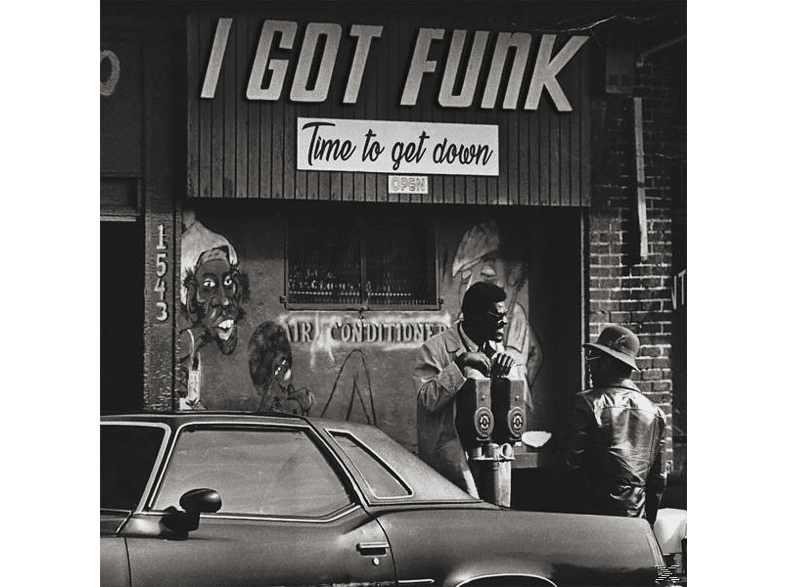 VARIOUS - I Got Funk-Time To Get Down (LP+MP3) [LP + Download]