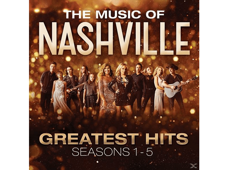VARIOUS - The Music Of Nashville: Greatest Hits Seasons 1-5 [CD]