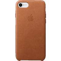 APPLE Leder Case Backcover Apple iPhone 8, iPhone 7 Leder Sattelbraun