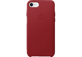 apple leder case f r apple iphone 8 iphone 7 in rot. Black Bedroom Furniture Sets. Home Design Ideas
