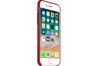 APPLE Leder Case Backcover Apple iPhone 8, iPhone 7 Leder Rot