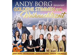 VARIOUS - Andy Borg präs.goldene Stimme - (CD)