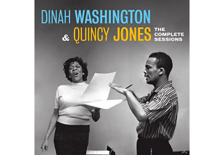 Dinah Washington, Quincy Jones - The Complete Sessions - (CD)