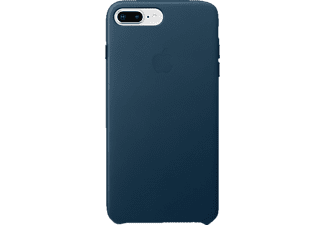 APPLE Leder Case iPhone 8 Plus / iPhone 7 Plus Handyhülle, Kosmosblau
