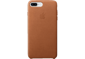 APPLE Leder Case Handyhülle, Sattelbraun, passend für Apple iPhone 7 Plus, iPhone 8 Plus