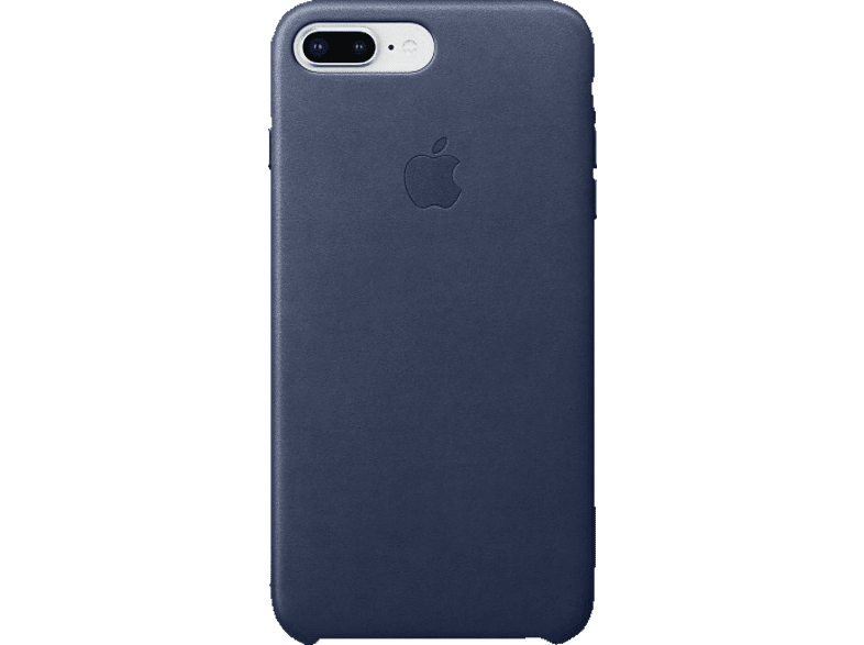 APPLE Leder Case Backcover Apple iPhone 7 Plus, iPhone 8 Plus Leder Mitternachtsblau