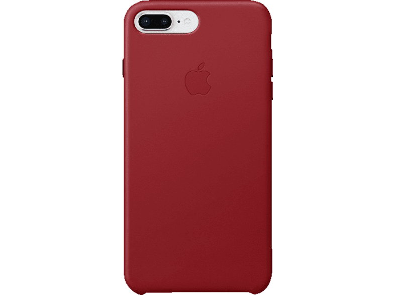 APPLE Leder Case Backcover Apple iPhone 7 Plus, iPhone 8 Plus Leder Rot