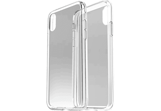 OTTERBOX Clearly Protected Skin Handyhülle, Transparent, passend für Apple iPhone X