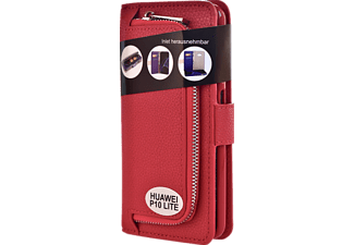 Wallet 2in1 Bookcover Huawei P10 Lite  Rot