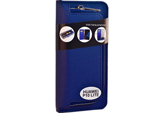 Wallet 2in1 Bookcover Huawei P10 Lite  Blau