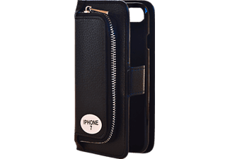 V-DESIGN W-2-1 010 Wallet 2-in-1 Handyhülle, Schwarz, passend für Apple iPhone 7