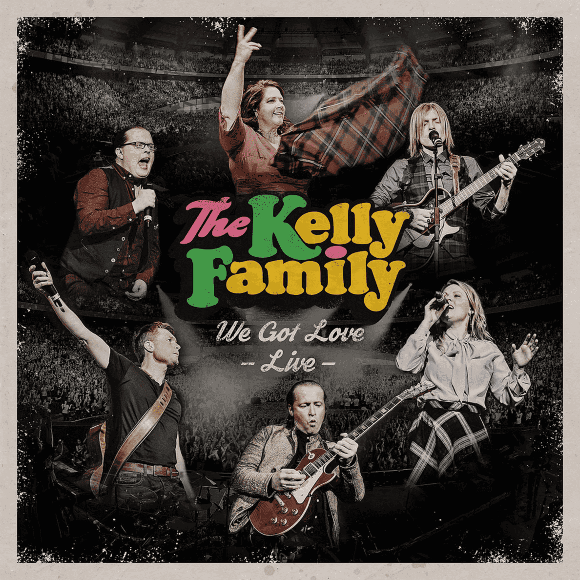 The Kelly Family - We Got Love-Live - (CD)