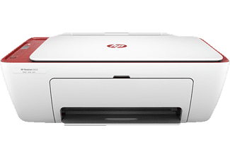 HP Deskjet 2633, 3-in-1 Multifunktionsdrucker, Rot/Weiß