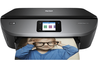 HP ENVY Photo 7130, 3-in-1 Multifunktionsdrucker, Schwarz