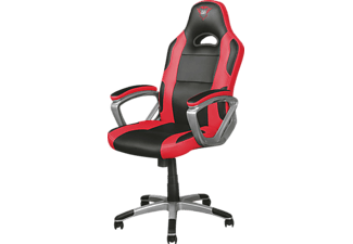 TRUST Gaming GXT 705R Gaming Chair, Rot/Schwarz
