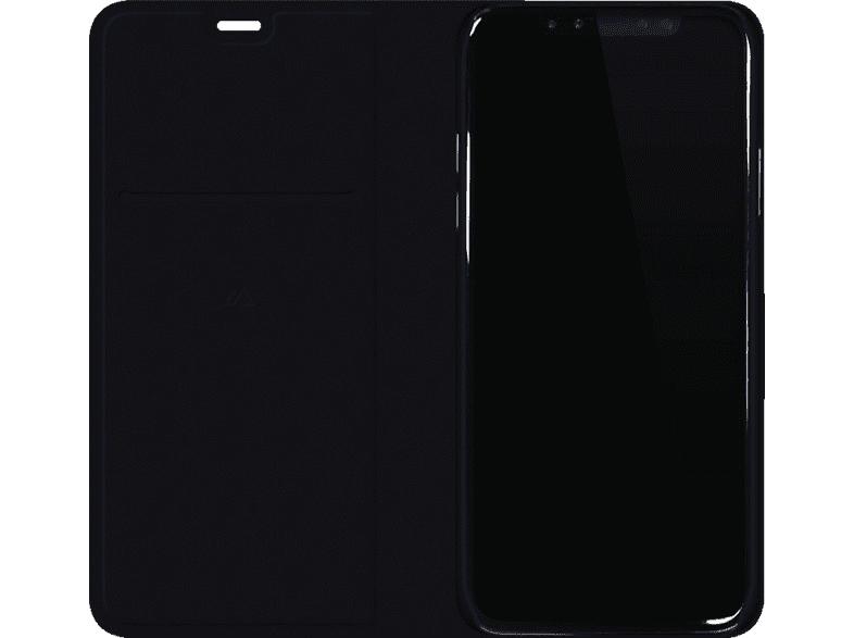 BLACK ROCK  Material Pure Bookcover Apple iPhone X Polyurethan Dark Navy | 04260460957214