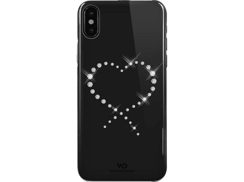 WHITE DIAMONDS Eternity Backcover Apple iPhone X Kunststoff Crystal