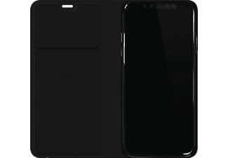 BLACK ROCK Flex Carbon Handyhülle, Schwarz, passend für Apple iPhone X