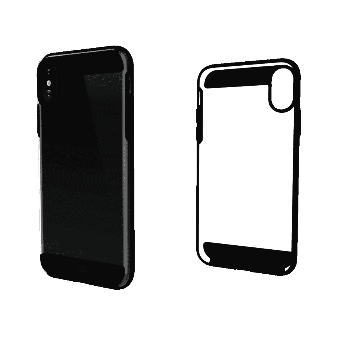 BLACK ROCK Air Protect für Apple iPhone X in Dark Navy