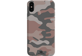 WHITE DIAMONDS Camouflage iPhone X Handyhülle, Rosegold