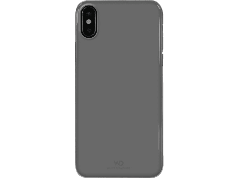 WHITE DIAMONDS Ultera Thin Iced Backcover Apple iPhone X Polycarbonat/Thermoplastisches Polyurethan Transparent