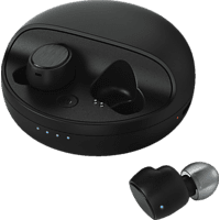 HAMA Disc, In-ear Full Wireless Headset Bluetooth Schwarz