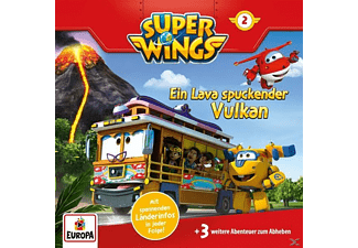 SONY MUSIC ENTERTAINMENT (GER) 002/Ein Lava spuckender Vulkan