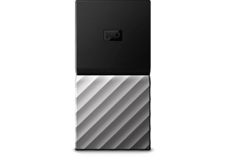 WESTERN DIGITAL Disque dur portable My Passport SSD 512 GB (WDBK3E5120PSL-WESN)