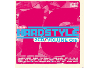 VARIOUS - SLAM! Hardstyle Vol.16 - (CD)