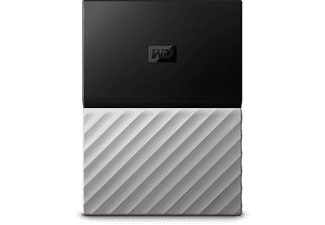 WESTERN DIGITAL Disque dur portable My Passport Ultra 1 TB Noir/Gris (WDBTLG0010BGY-WESN)