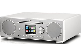 PTEC Internetradio Pilatus mit DAB+, Bluetooth, CD Player