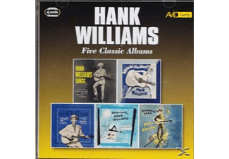 Hank Williams - Five Classic Albums - (CD)